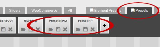 Revo COMPOSER - Presets