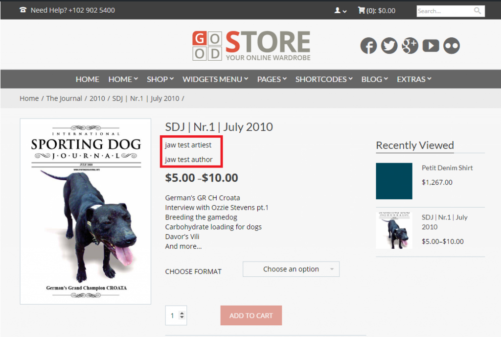 How to Create Custom WooCommerce Fields and Display them on